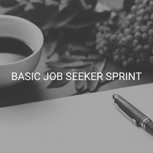 Basic Job Seeker Sprint